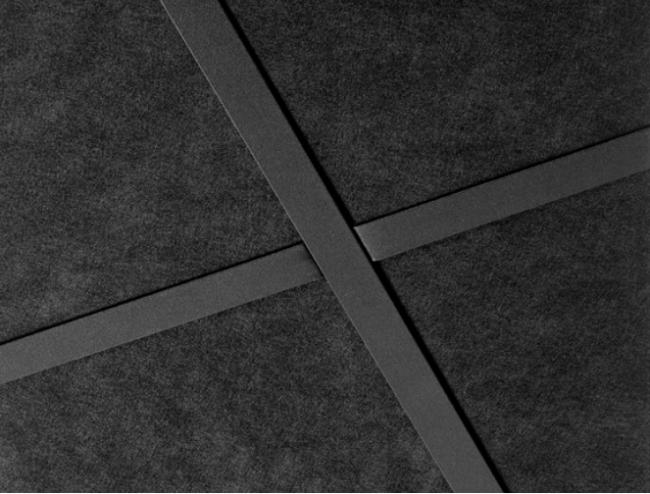 plafondplaat zwart